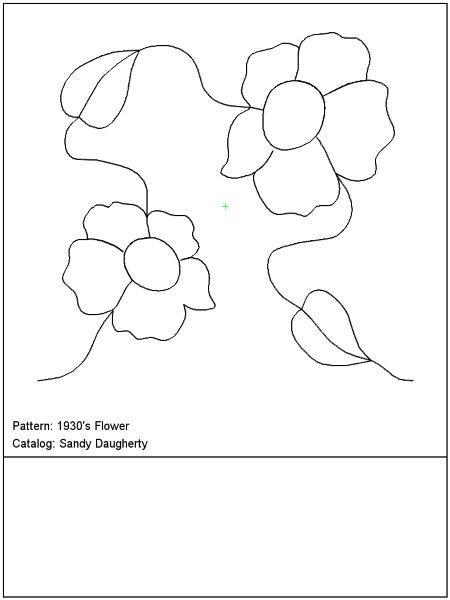 The Smiling Quilter Patterns Pantographs
